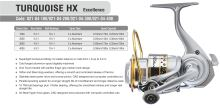 TORQUE HX EXCELLENCE FD 10+1BB 2 ALU SPOOLS