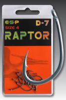 ESP kaprové háčky Raptor D7 (VO bal/5bal/10ks)