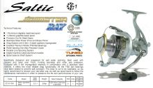 SALTIC HK JIGMASTER BAY FD 9+1BB ALU SPOOL + GRAPHITE SPOOL