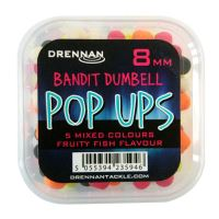 DR PopUp 8mm B/ Dumbell Mix Fruity Fish bal/4kr