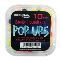 DR PopUp 10mm B Dumbell Mix Fruity Fish bal/4kr