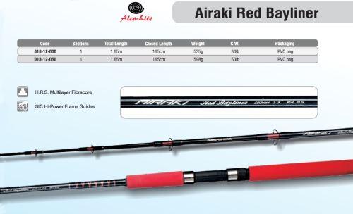 AIRAKI RED BAYLINER 1,65MT 1 DILNY