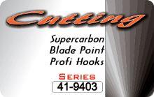 CUTTING BLADE 9403 BLACK NICKEL (10 bal x 10 ks)